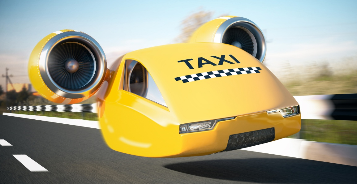 First Flying Taxi