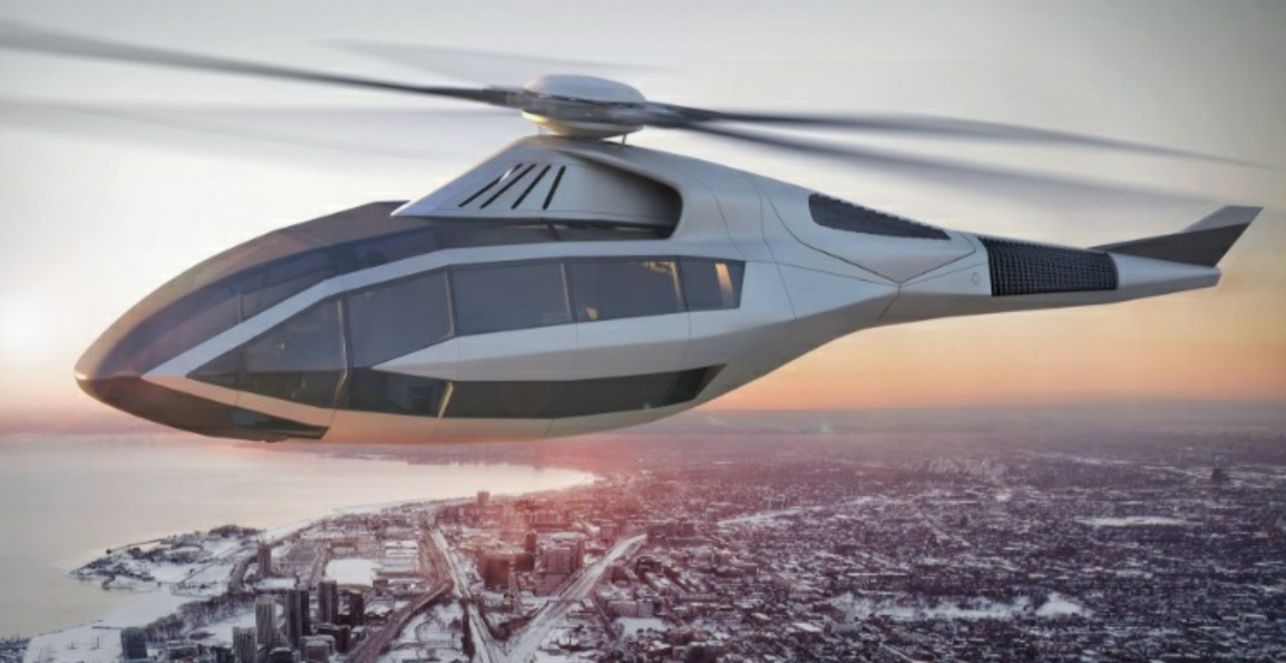 FCX-001 – Bell Helicopter's Futuristic FlyingMachine