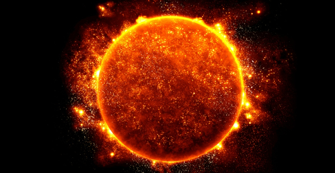 The Sun – The Solar System's Direct Source of Heat andLight