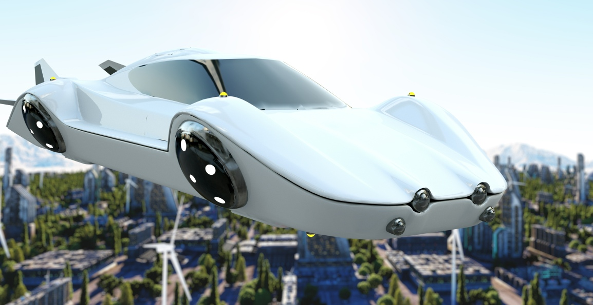 Electric Cars that Fly – Eliminating Ground Traffic in theFuture