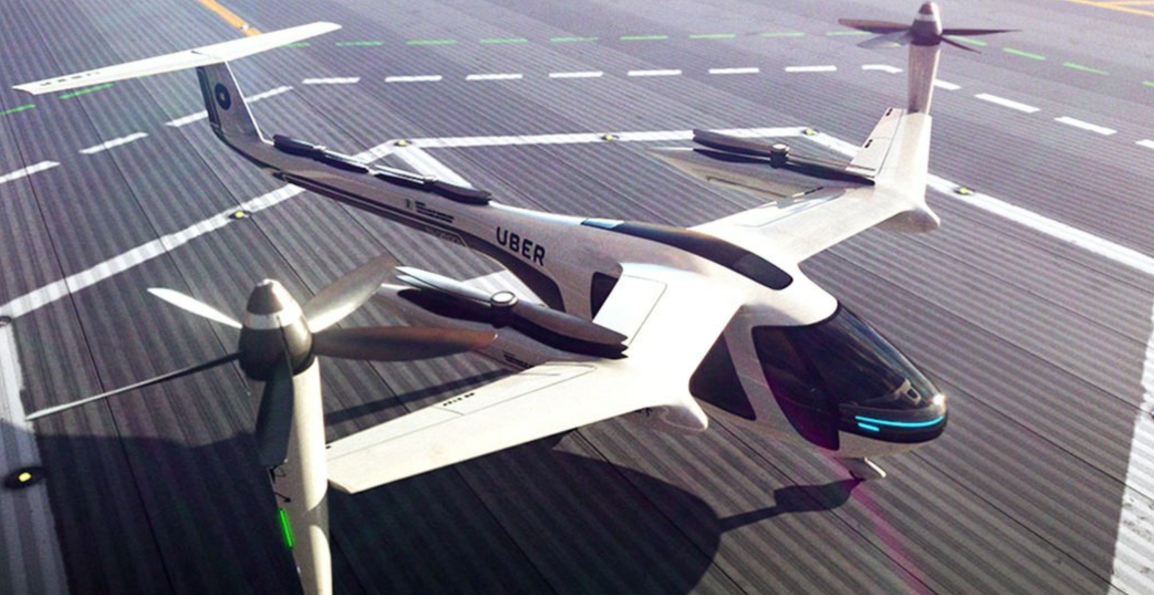 Uber Elevate – The Flying TaxiService
