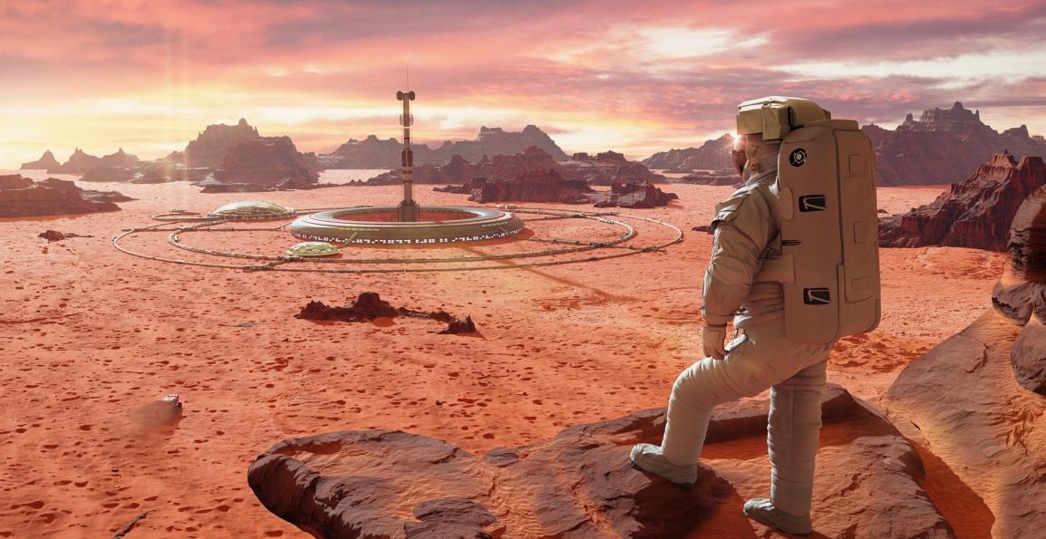 Space Life Underground