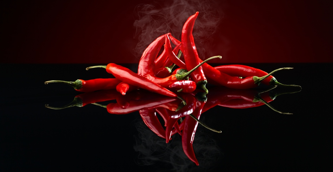 Live longer. Eat Chilies.